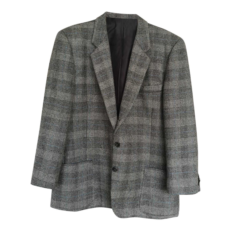 Blazer en laine Prince-de-Galles