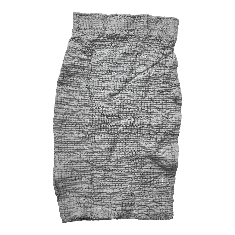 Jupe en soie élastique