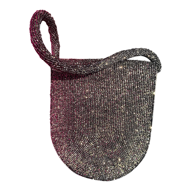 Mini sac en perles et sequins