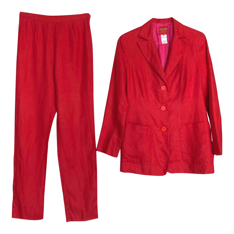 Tailleur pantalon Kenzo en lin