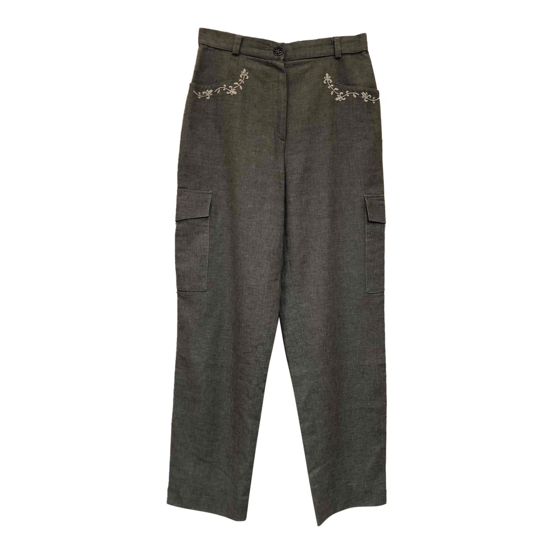 Pantalon autrichien brodé