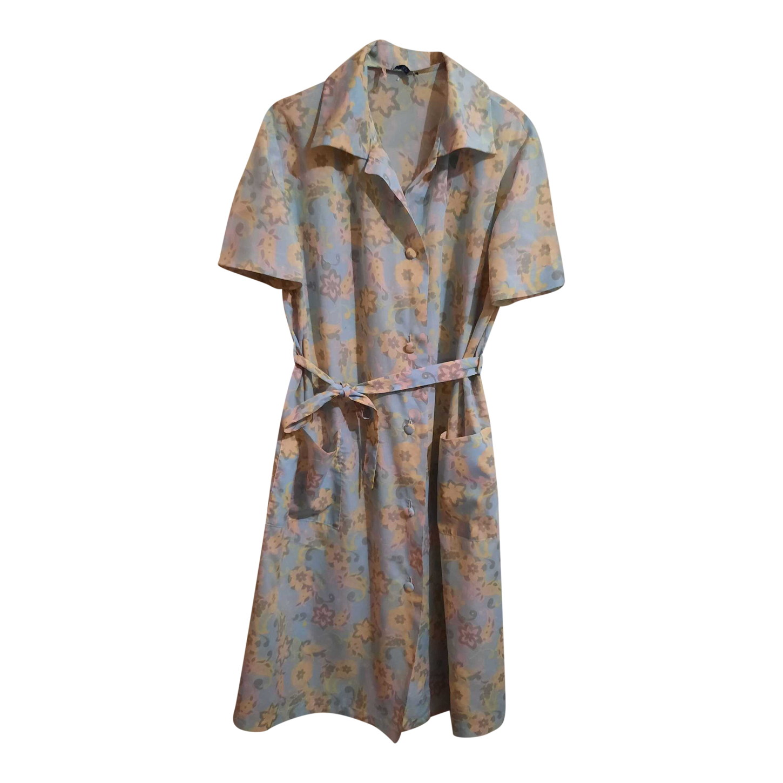 Robe à fleurs 70s