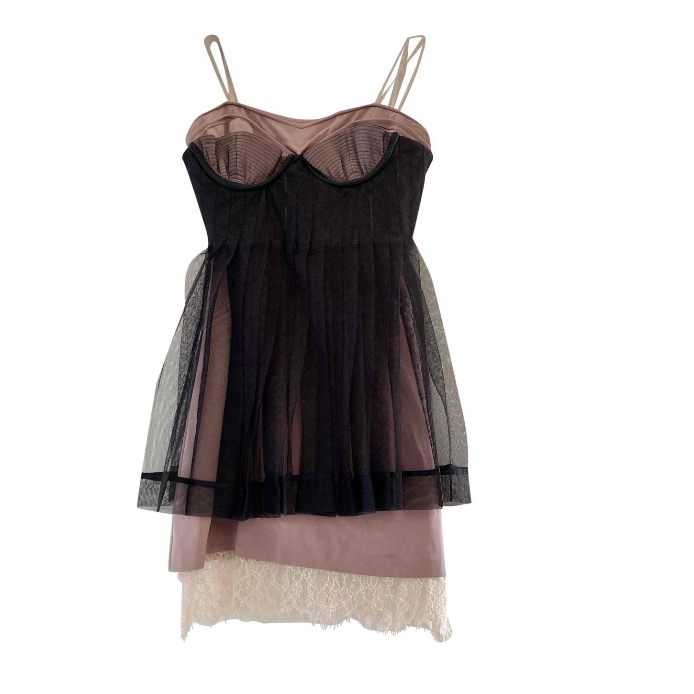 Mini robe en soie