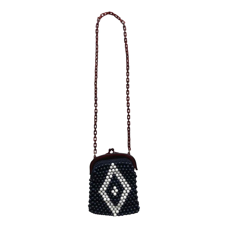 Mini sac en perles 70's