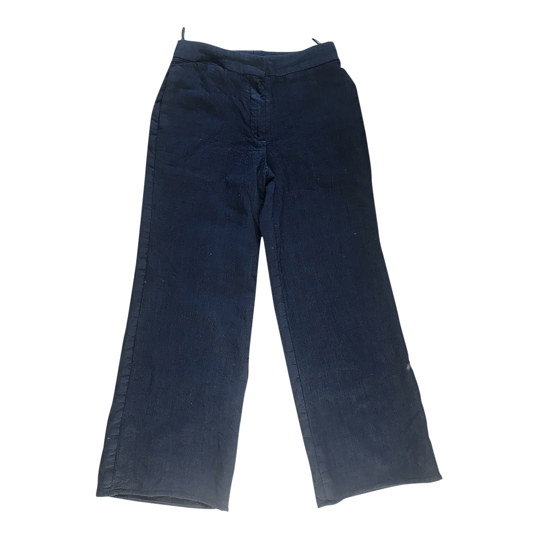 Pantalon Nina Ricci en laine et soie