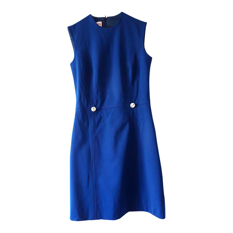 Robe bleue 60's