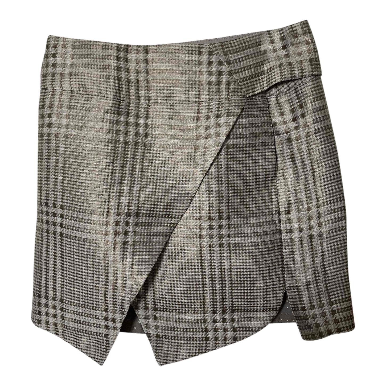 Mini jupe portefeuille Armani