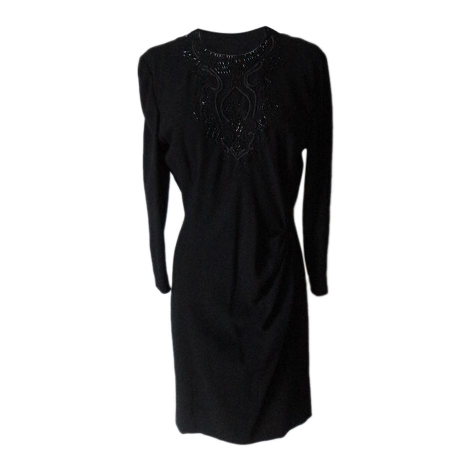 Robe noire 80's