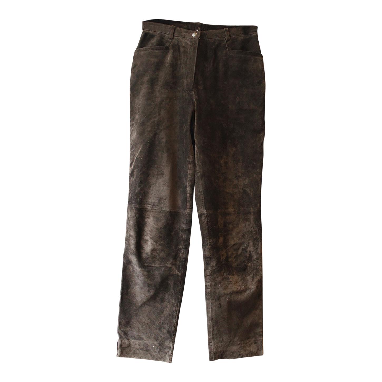Pantalon en daim