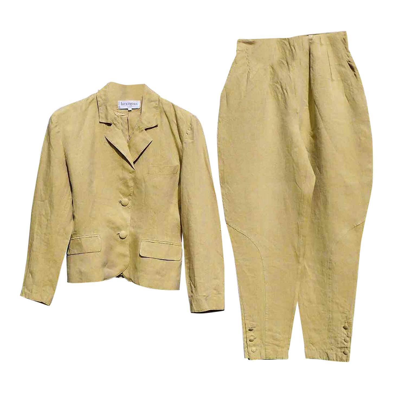 Tailleur pantalon en lin