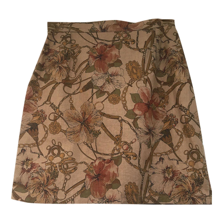 Mini jupe en lin