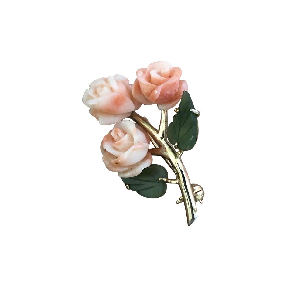 Broche fleurs
