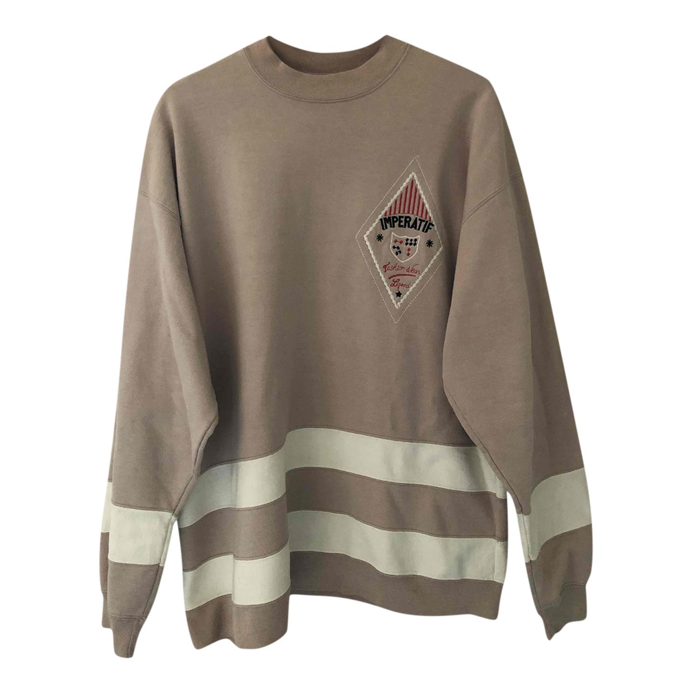 Sweat-shirt en coton