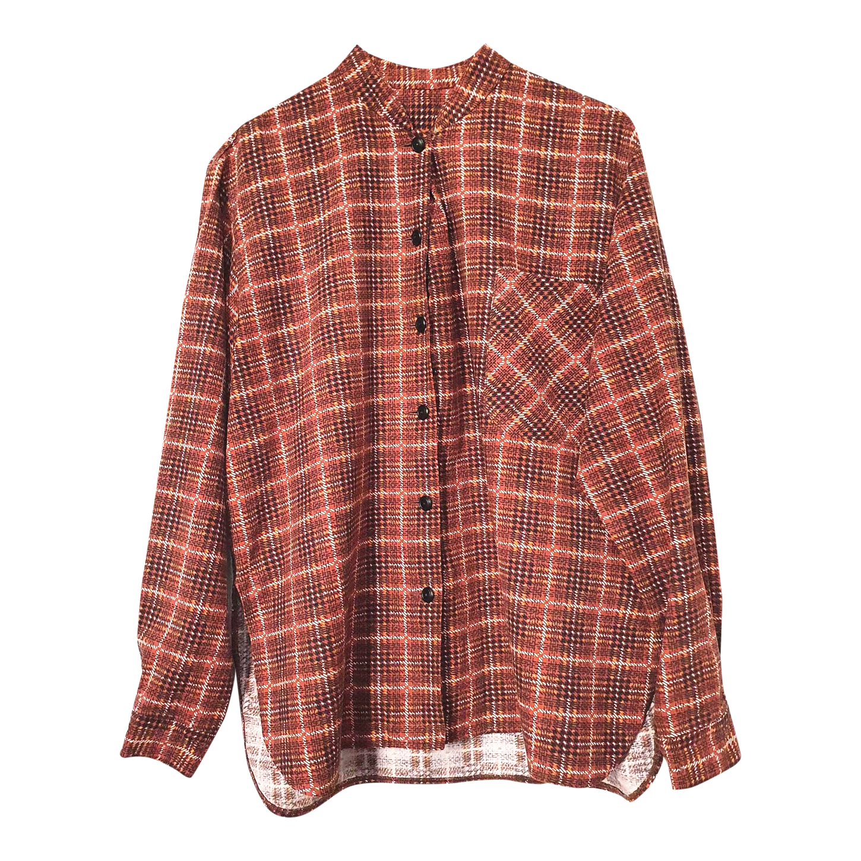 Chemise à col mao