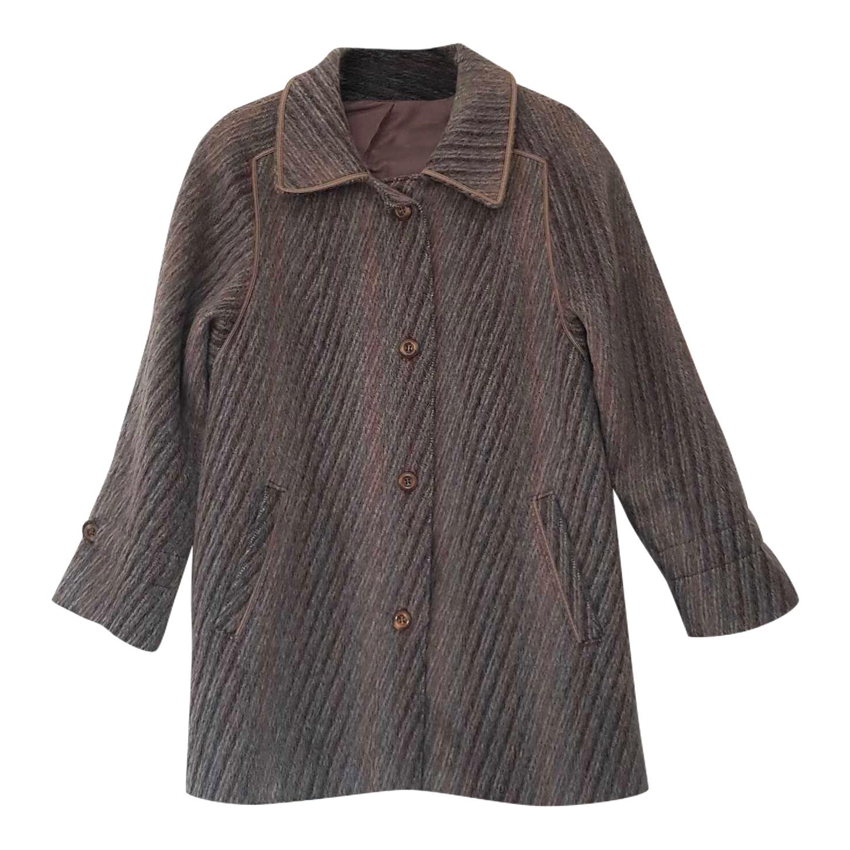 Manteau en laine de lama