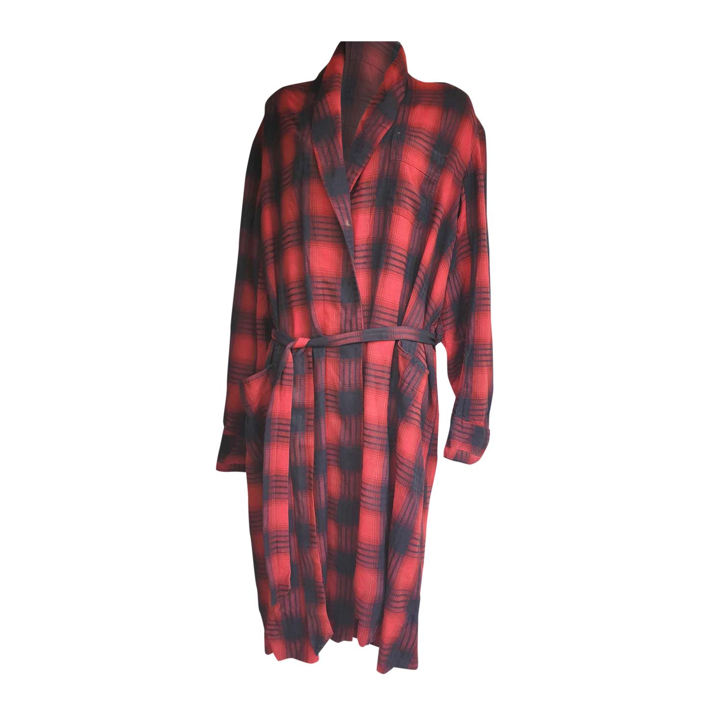 Robe de chambre tartan