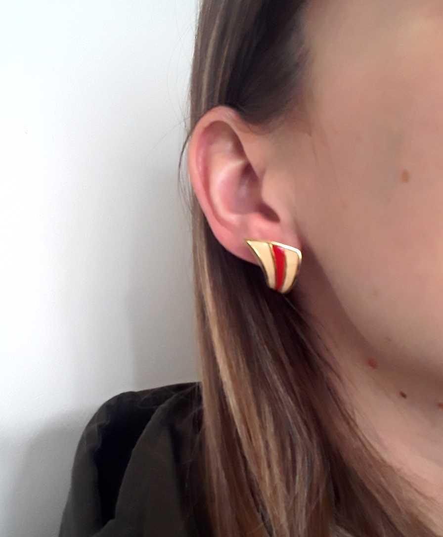 Boucles d'oreilles 80s