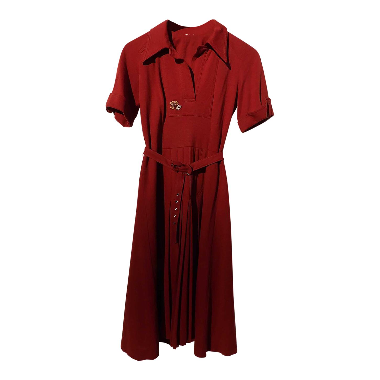 Robe plissée 70s