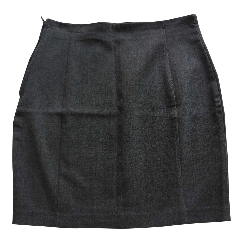 Mini-jupe grise 90s
