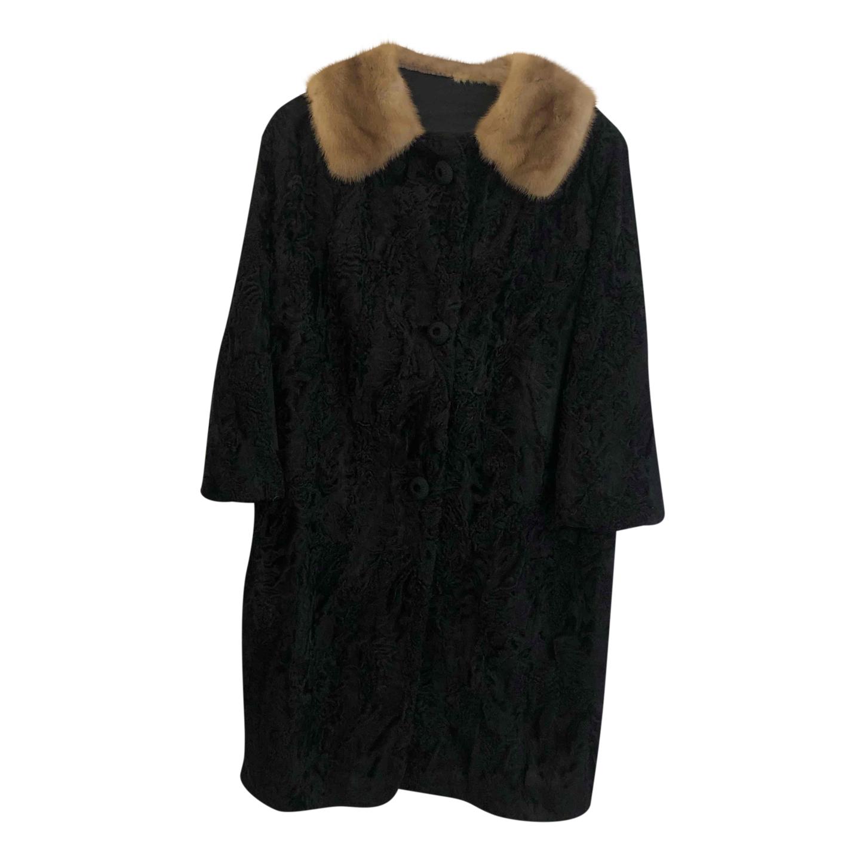 Manteau long en fourrure