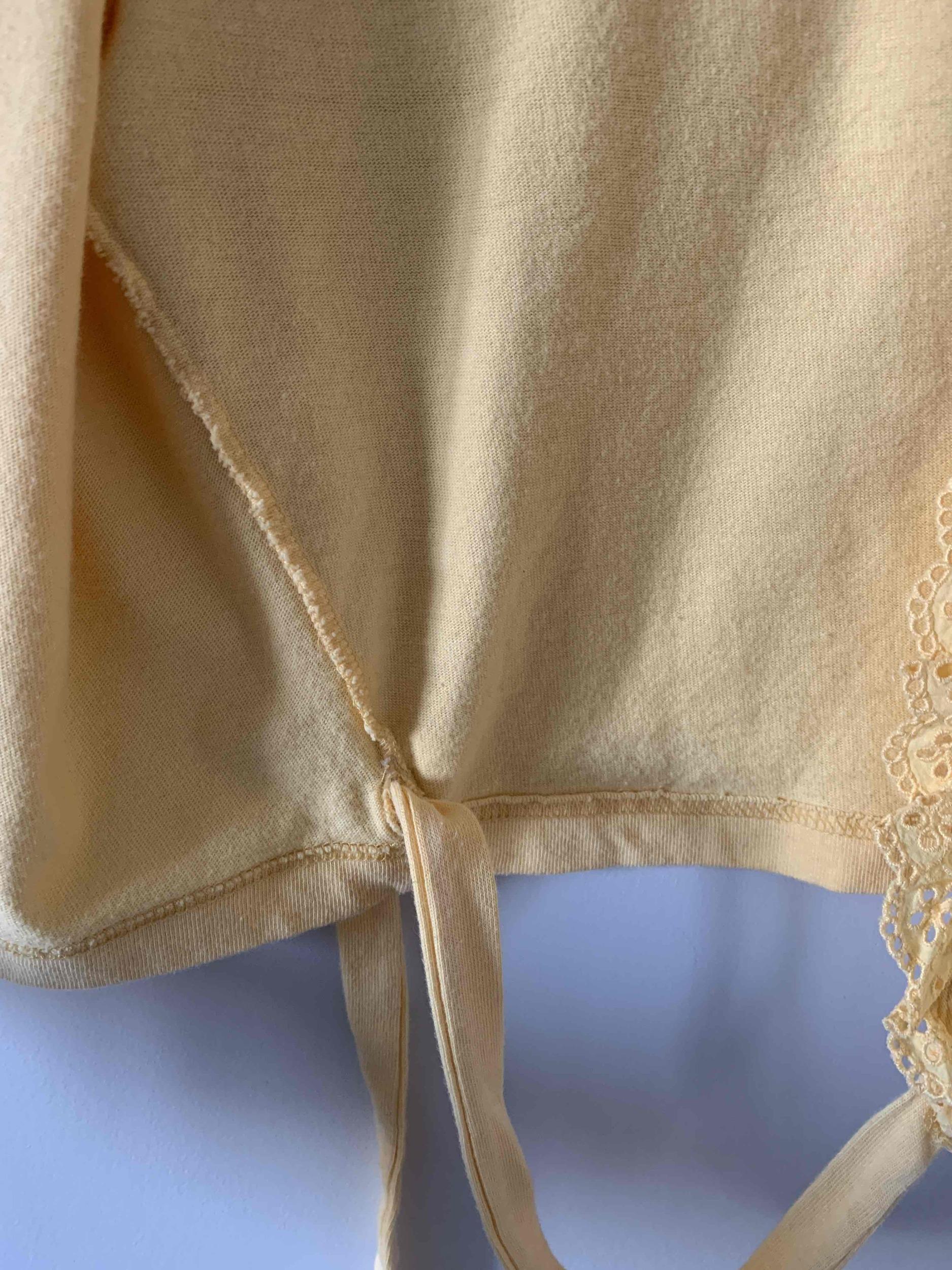 Cache-coeur en coton