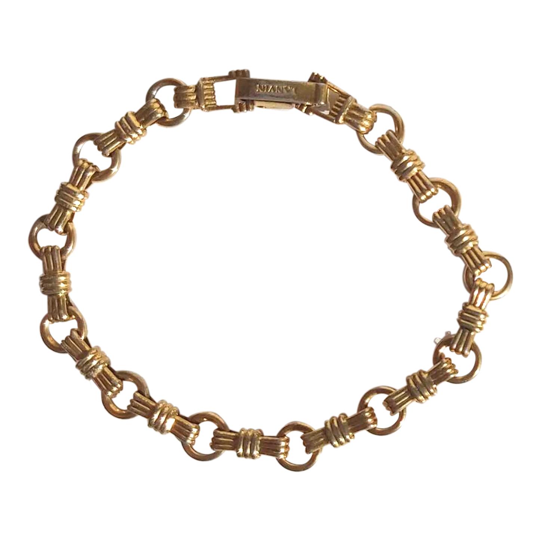 Bracelet Lanvin plaqué or
