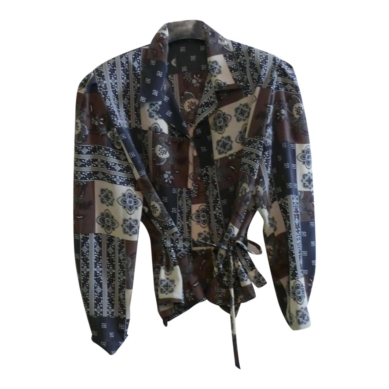 Chemise ceinturée à motifs