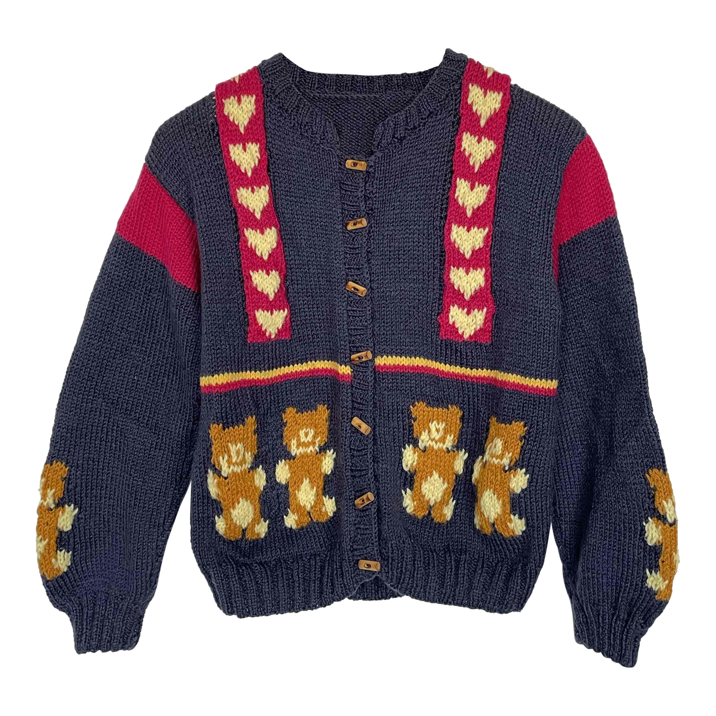Cardigan oursons
