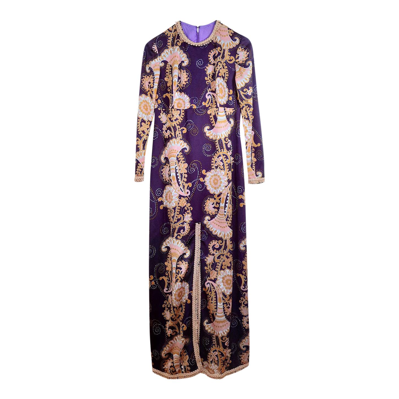 Robe longue Paisley