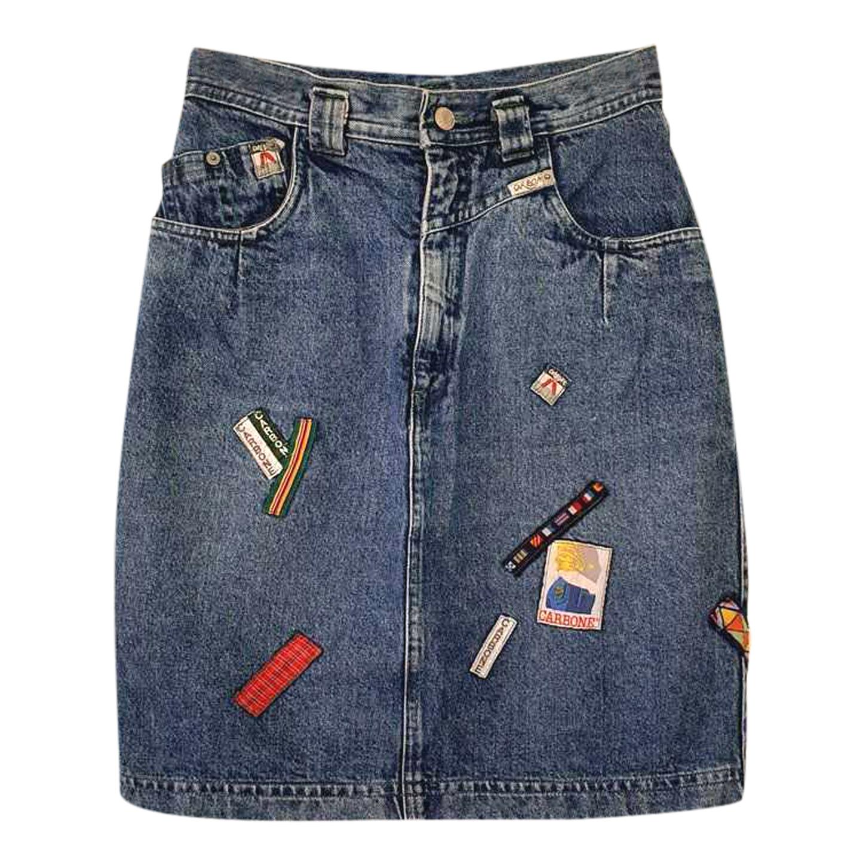 Jupe en jean 80's