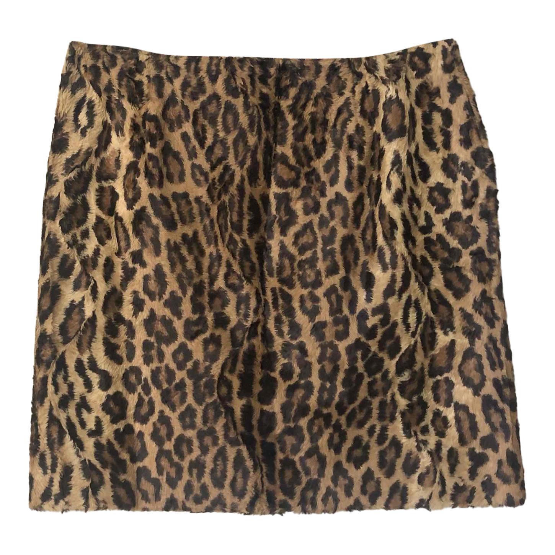 Mini jupe léopard
