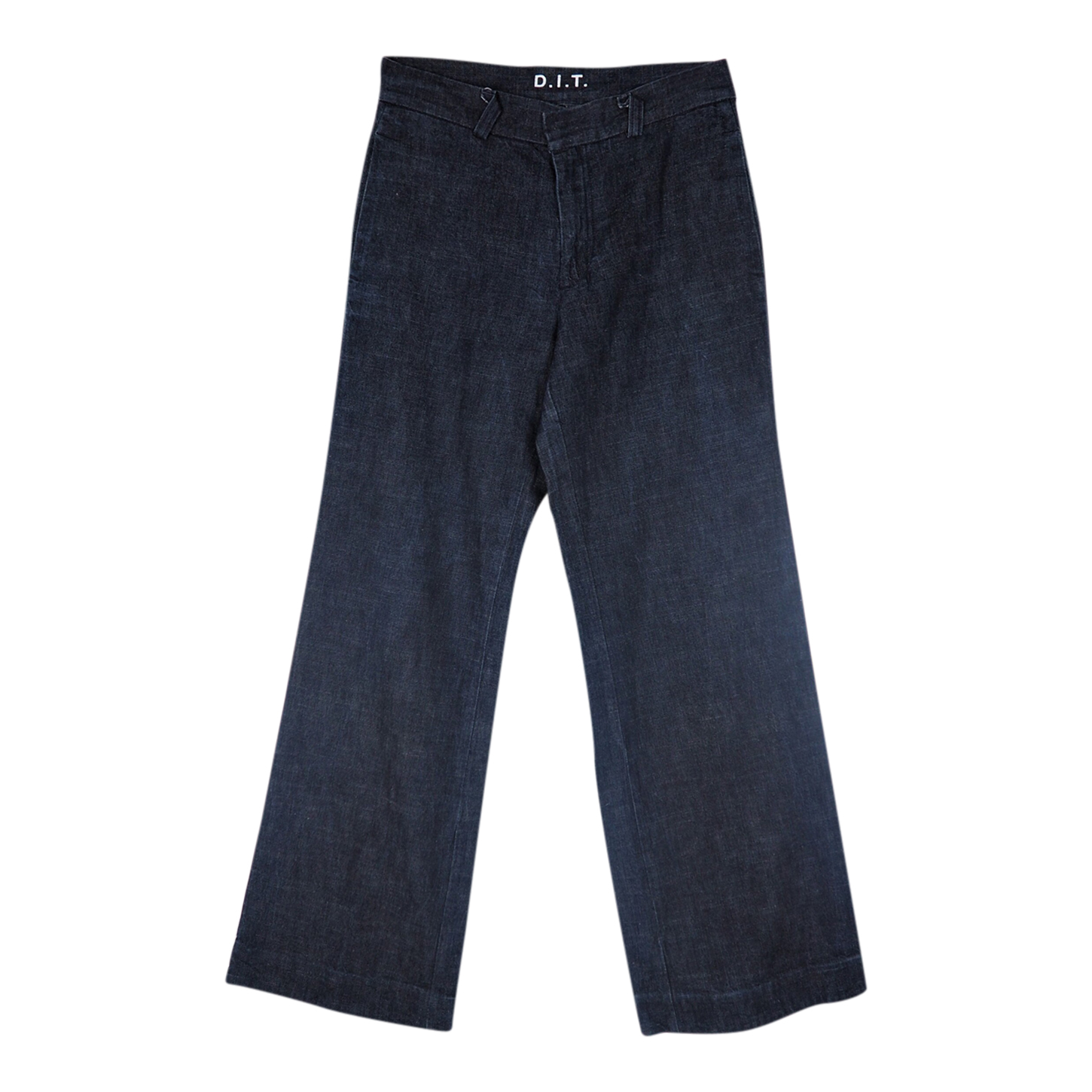 Jean flare taille basse