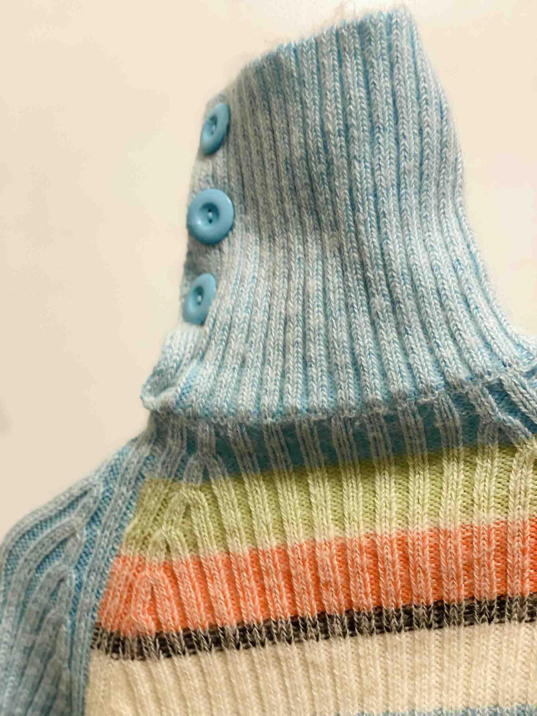 pull en laine 70s