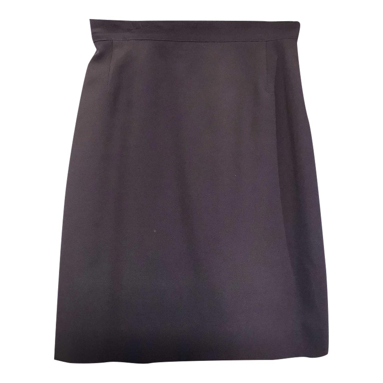 Mini-jupe en laine