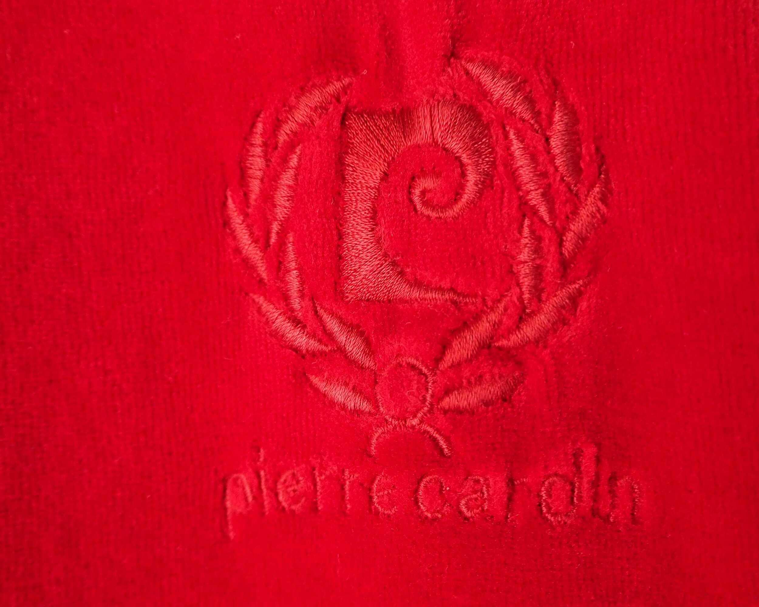 Cardigan Pierre Cardin en velours