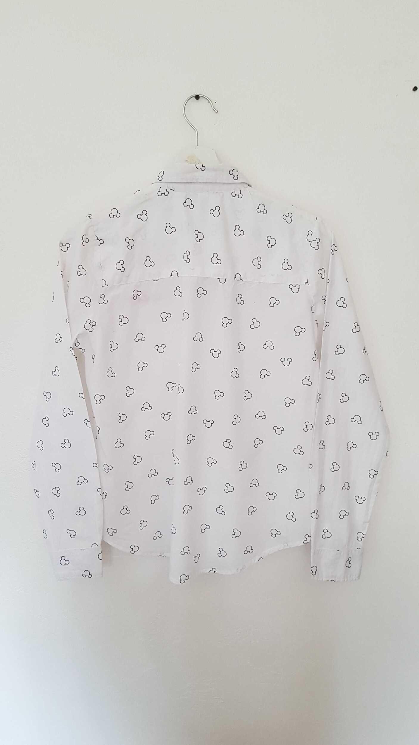 Chemise Mickey en coton