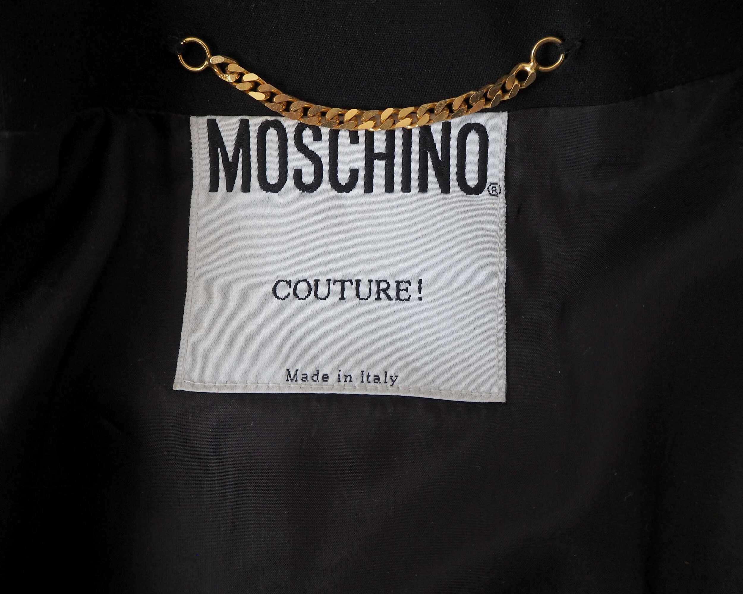 Veste Moschino