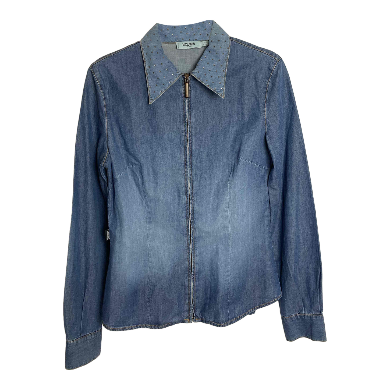 Chemise Moschino en jean