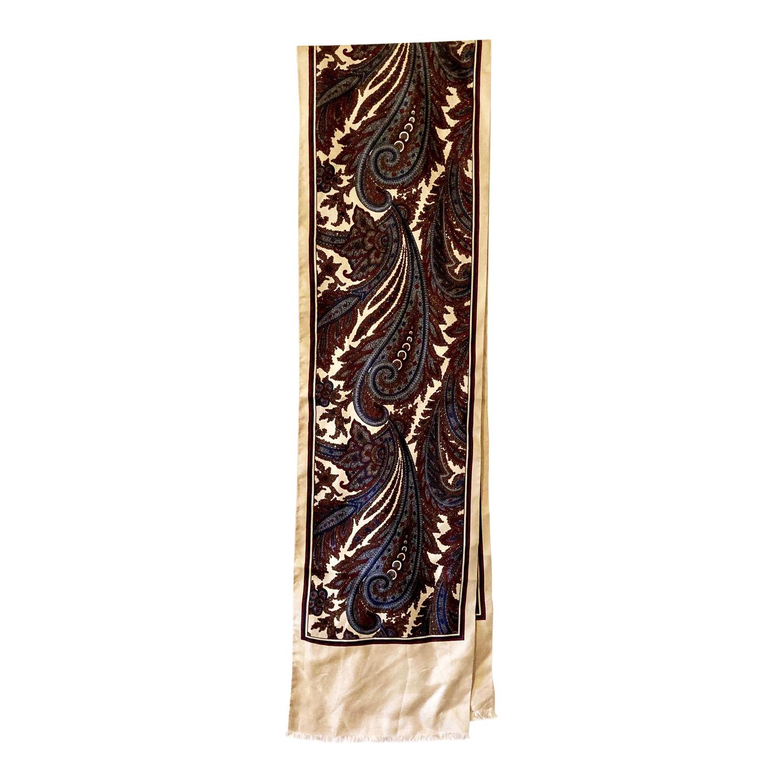Foulard Paisley en soie