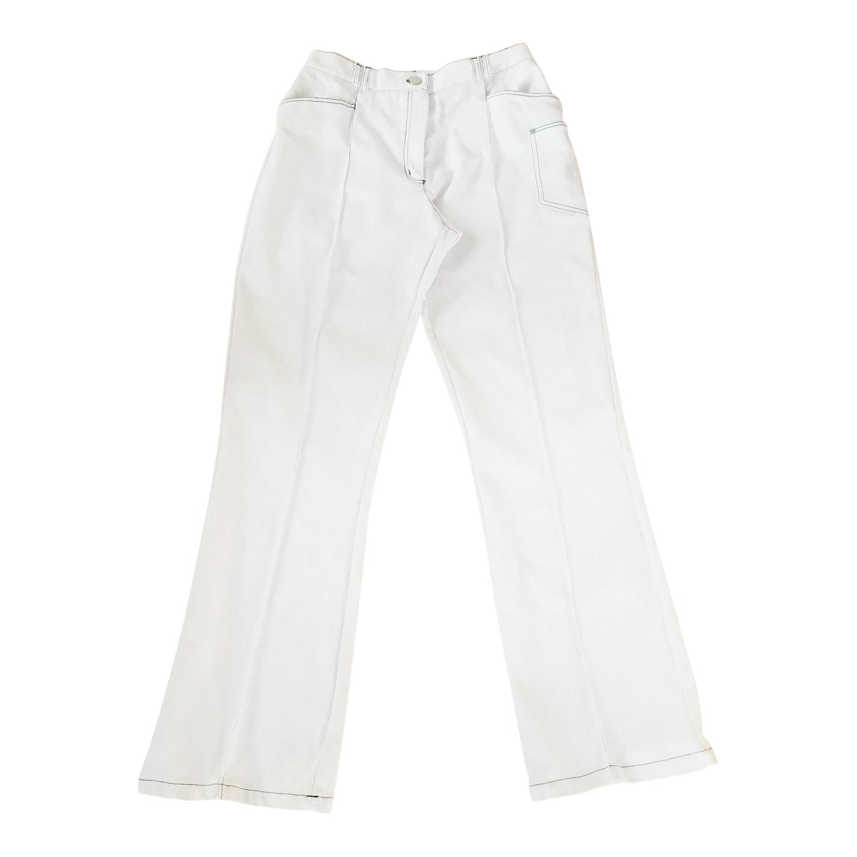 Jean blanc 80s