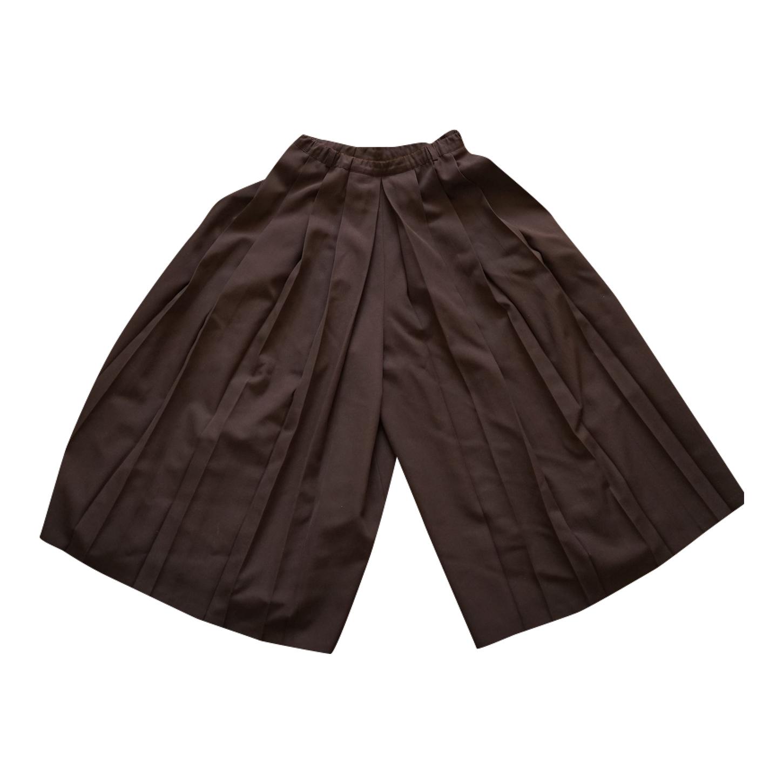 Jupe culotte plissée