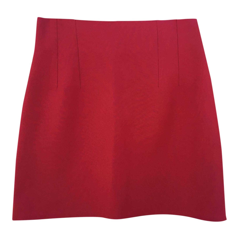 Mini-jupe rouge 90s