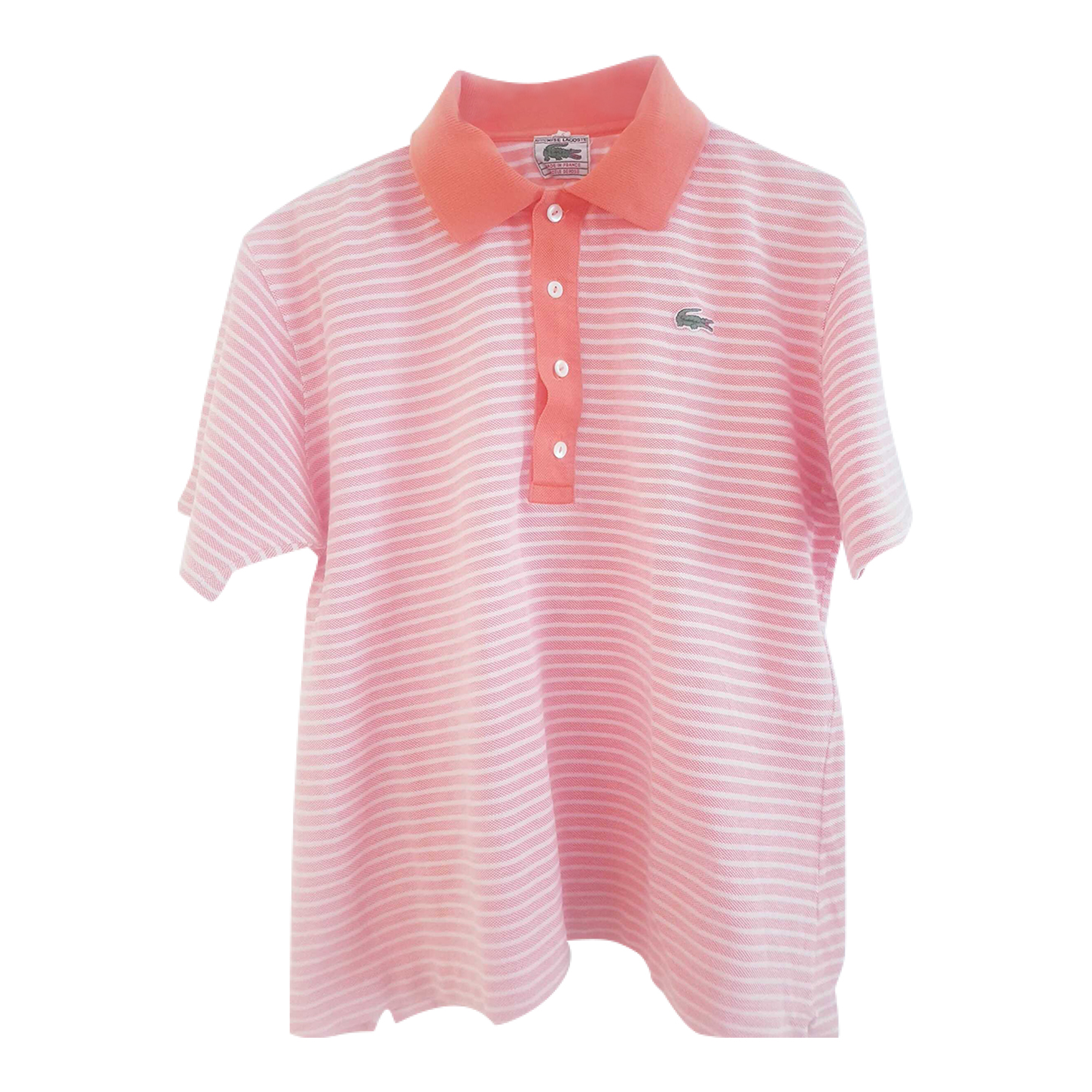 Polo Lacoste à rayures