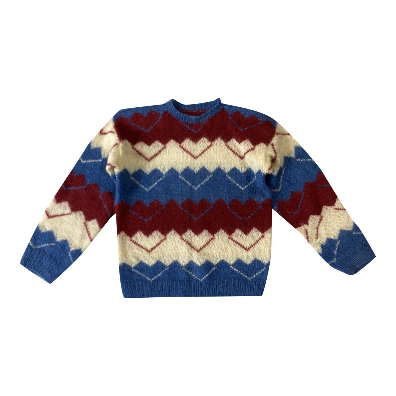 Pull en laine à motifs