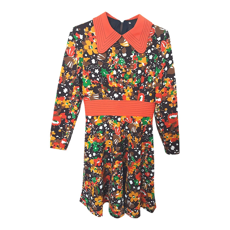 Robe imprimée 70s