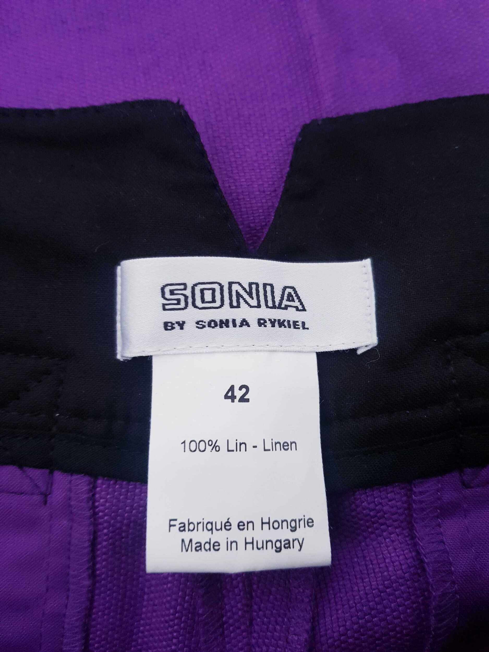 Pantalon Sonia Rykiel en lin