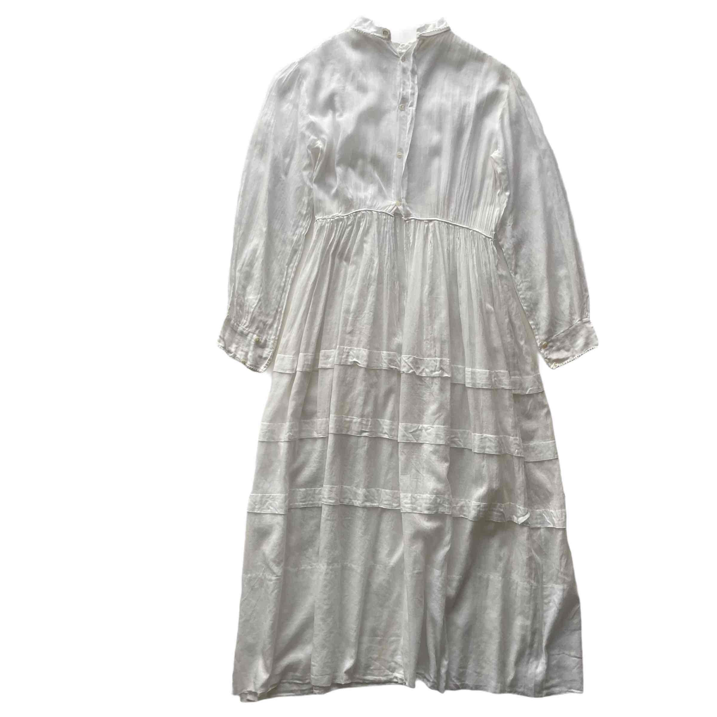 Robe en coton transparente