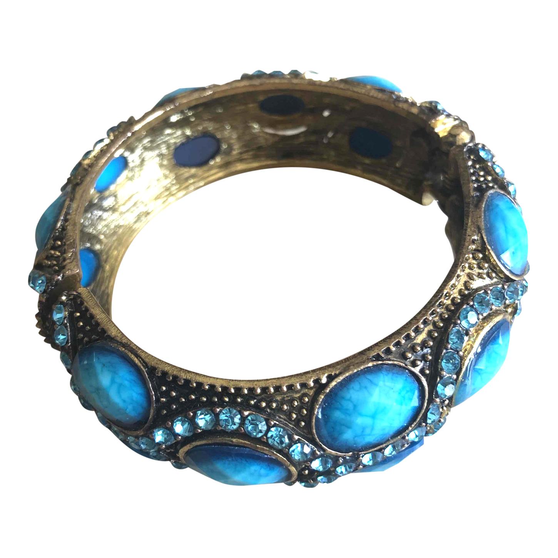 Bacelet jonc turquoise