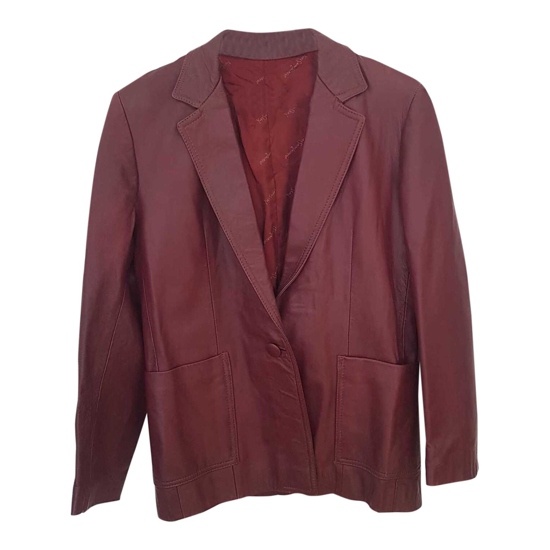 Blazer Yves Saint Laurent en cuir