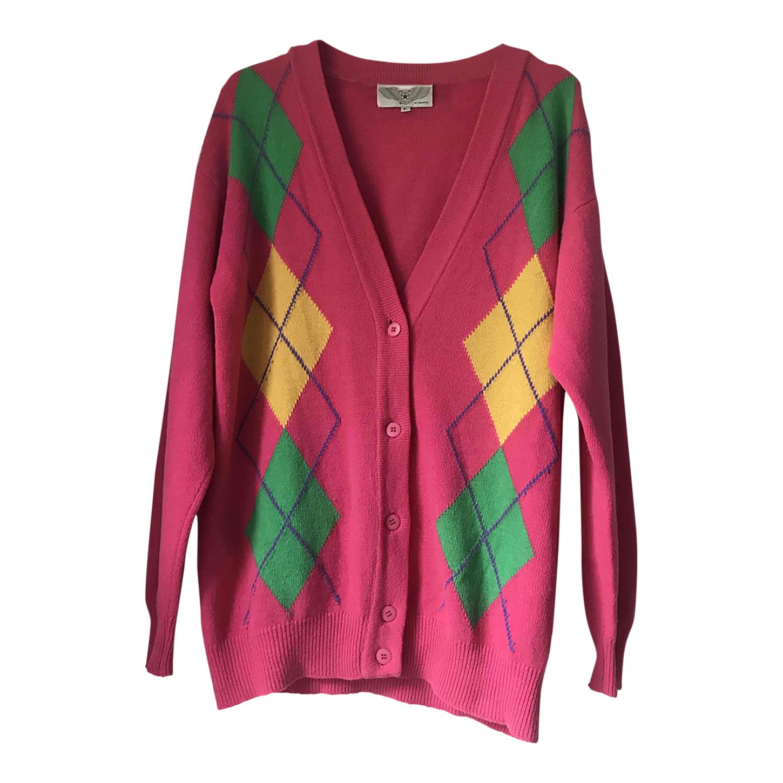 Cardigan long en laine et angora